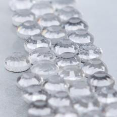 Hot-fix glittersten 4 mm - flera färger