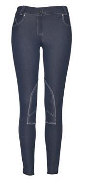 Mountain Horse Jeanie halvskodd stövelbyxa i jeanslook