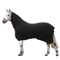Fleecetäcke med hals