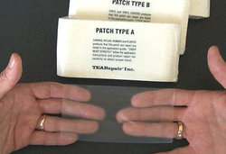 Tear-aid reparationslappar