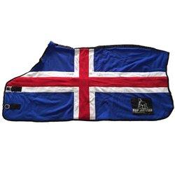 Top Reiter Fleecetäcke med isländska flaggan