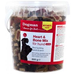 Dogman Heart & Bone Mix Godis