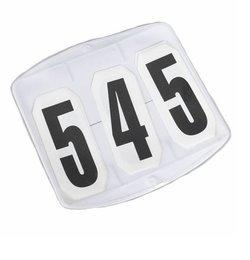Nummerbricka kvadratisk