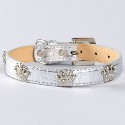 Halsband med krona